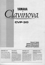 Buy Yamaha CVP30E Operating Guide by download Mauritron #247287