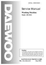 Buy Daewoo. DW50100001. Manual by download Mauritron #212973