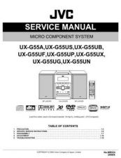 Buy JVC UX-G55UB Service Manual by download Mauritron #272769