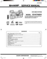Buy Sharp CDSW-250DVD Technical Information by download Mauritron #232793