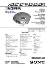 Buy Sony D-CJ01 Service Information by download Mauritron #237723