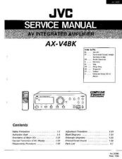 Buy JVC jvc-ax-v4bk--- Service Manual by download Mauritron #273474