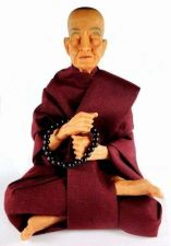 Buy BUDDHIST MONK STATUE HANDCRAFTED FIBER RESIN FAMOUS SOMDEJ TOH FREE SHIPPING