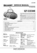 Buy Sharp QTCD30E (1) Service Manual by download Mauritron #210228
