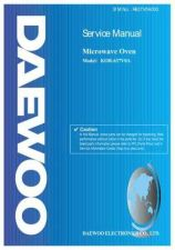 Buy Daewoo R637V0A002 Manual by download Mauritron #226473