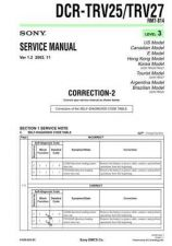 Buy Sony DCR-TRV7TRV7E... Service Manual by download Mauritron #239913