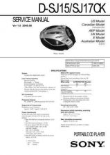 Buy Sony D-E221E223 Manual by download Mauritron #228668