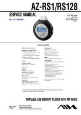 Buy Sony AZ-RS128 Service Manual by download Mauritron #236827