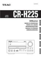 Buy Teac CR-H225(FSGIN) Service Manual by download Mauritron #223633