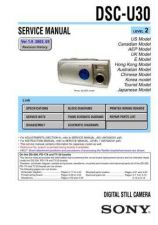 Buy Sony DSC-U50.. Service Manual by download Mauritron #240357