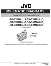 Buy JVC GR-SXM260USSCH Service Manual Schematic Circuit. by download Mauritron #270817