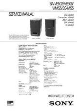 Buy Sony SA-VE130 Technical Manual. by download Mauritron #243737