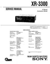 Buy Sony XR-3050-3051-3052 Service Manual. by download Mauritron #246080