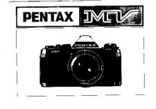 Buy PENTAX MV CAMERA INSTRUCTIONS by download #119067