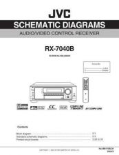 Buy JVC RX-7040B Service Manual Schematic Circuit. by download Mauritron #272263