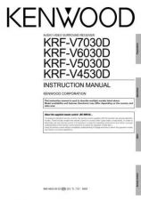 Buy Kenwood KRF-V5060D Operating Guide by download Mauritron #219453