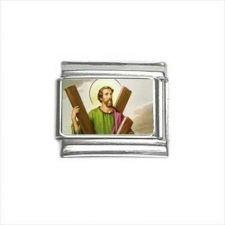 Buy St Andrew Patron Saint 9mm Italian Charm