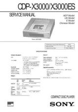 Buy Sony CDP-X222ES Service Manual by download Mauritron #237385
