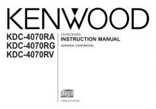 Buy Kenwood KDC-4090R Operating Guide by download Mauritron #221701