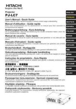 Buy Hitachi PJ-LC5 PT Manual by download Mauritron #225411