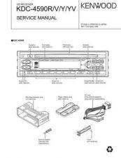 Buy KENWOOD KDC-4590R V Y YV Technical Information by download #118645