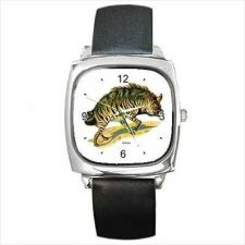 Buy Hyena Art Unisex Square Wrist Watch New