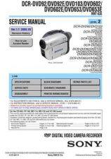 Buy Sony DCR-SR90E-SR100-SR100E Service Manual by download Mauritron #231866
