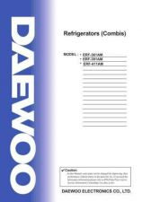 Buy Daewoo. SM_ERF-411MH_(E)(1). Manual by download Mauritron #213616