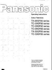 Buy Panasonic TX29GF85 Operating Instruction Book by download Mauritron #236601