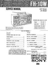 Buy Sony FH-B510-MHC-510 Service Manual by download Mauritron #240739