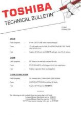 Buy TOSHIBA CDH62 Technical Information by download #116210