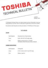 Buy TOSHIBA CDH58 Technical Information by download #116208