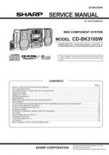 Buy Sharp CD-CPC401H-402 (1) Service Manual by download Mauritron #208457