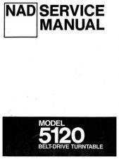 Buy NAD 5120 Service Manual by download Mauritron #235920