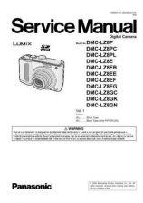 Buy Panasonic DMC-TZ3GC Service Manual with Schematics by download Mauritron #266987