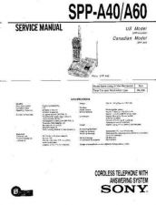 Buy Sony SPP-A400. Service Manual. by download Mauritron #244405
