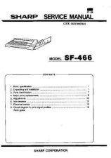 Buy Sharp SF7320-7370 PG GB Service Manual by download Mauritron #210538