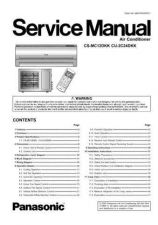 Buy Panasonic MAC0701001CE Service Manual by download Mauritron #267592