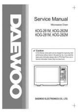 Buy Daewoo. KOG-1A0A9A by download Mauritron #213082