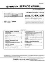 Buy JVC SDEX220H SM GB(1) SERVICE MANUAL by download Mauritron #220602