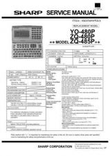 Buy Sharp ZQ-485P Technical Information by download Mauritron #233126