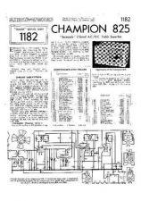 Buy CHAMPION 825 SERVICE I by download #105489