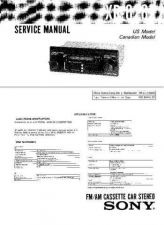 Buy Sony XR-5790R5800R Service Manual. by download Mauritron #246126