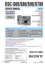 Buy Sony DSC-S85 (1) Service Manual by download Mauritron #240310