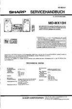 Buy Sharp MDMX10H SM SUPPLEMENT DE by download Mauritron #209080