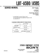 Buy Sony LBT-A590-A595 Service Manual by download Mauritron #241743