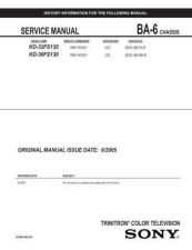 Buy Sony BA-6[3] Service Manual by download Mauritron #236852