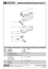 Buy Arnold No.256 Gedeckter Guterwagen fur Bananen der DB HN6061 Information by dow