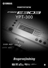 Buy Yamaha PSRE303 DAN ONLINE Operating Guide by download Mauritron #249411