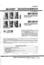 Buy Sharp MDM2H-M1H SM DE Service Manual by download Mauritron #209998